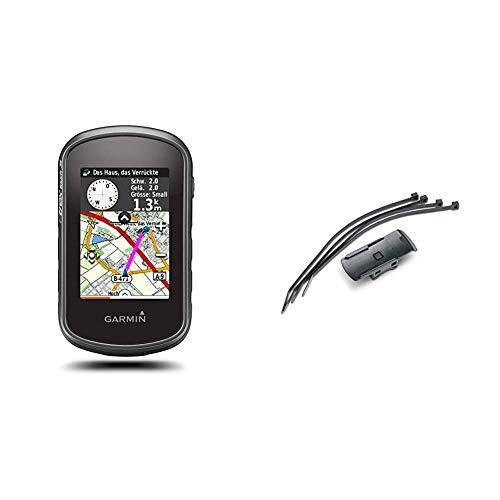 Garmin eTrex Touch 35 GPS Portatile, Schermo 2.6', Altimetro Barometrico e Bussola Elettronica & 010-11023-00 Staffa per Montaggio a Tubolare per Gps Serie Dakota, Gpsmap 62, Oregon, Etrex