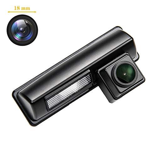 170° HD Kamera 1280x720p Wasserdicht Nachtsicht Kennzeichenleuchte-Rückfahrkamera Distanzlinien Umschaltbar Einparkhilfe für Toyota Vios/Picnic/Echo Verso Altezza/Camry XV40/Prius/Ipsum/Avensis
