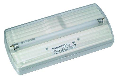 Legrand 448617000 Éclairage de Secours 6W, Plastique, Blanc