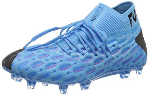 PUMA Future 5.1 Netfit FG/AG, Scarpe da Calcio Uomo, Blu (Luminous Blue-Nrgy Blue Black-Pink Alert), 39 EU
