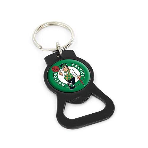 NBA Boston Celtics Bottle Opener Keychain, Black