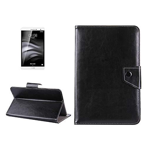 YUNCHAO Caso para Tableta Funda de Cuero para Tableta de 7 Pulgadas Crazy Horse Textura Funda Protectora de Carcasa con Soporte para Samsung Galaxy Tab A 7.0 (2016) / T280 y Tab 4 7.0 / T230 y Tab Q