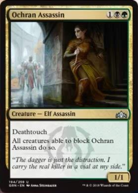 Magic The Gathering - Ochran Assassin (194/259) - Guilds of Ravnica