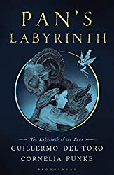 Pan's Labyrinth: The Labyrinth of The Faun book cover showing Ofelia and the faun hugging
