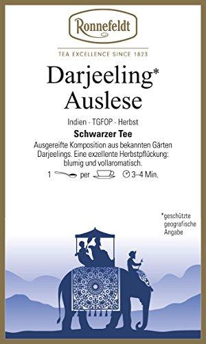 Ronnefeldt - Darjeeling** Auslese - Schwarzer Tee aus Darjeeling - 100g