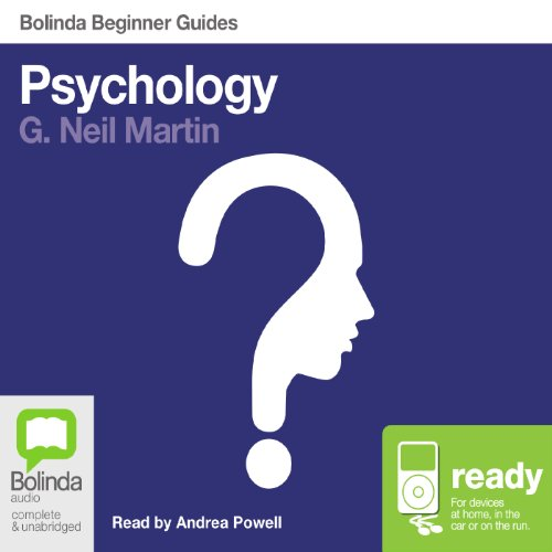 Psychology: Bolinda Beginner Guides audiobook cover art