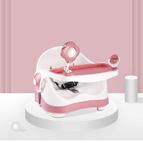 GZQDX Bebé Silla de Comedor for niños Silla de Comedor Silla de bebé multifuncionales de Aprendizaje Fuera portátil Silla de Comedor pequeño Taburete (Color : B)