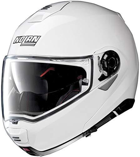 NOLAN N100-5 CLASSIC N-COM METAL WHITE S