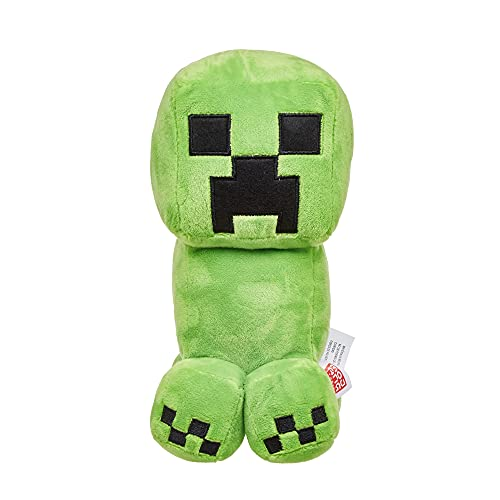 Minecraft Peluche Creeper 20 cm, juguete para niños +3 años (Mattel HBN40)