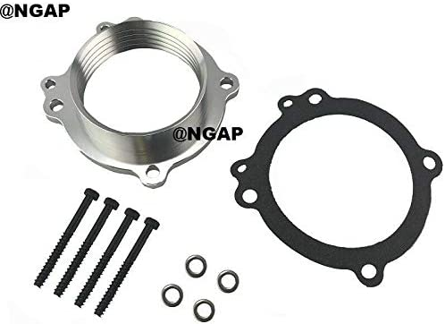Silver Billet Throttle Max 83% OFF Free Shipping Cheap Bargain Gift Body Spacer Made 2008-2012 For Ram Dodge