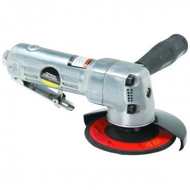Central Pneumatic 4' Air Angle Grinder