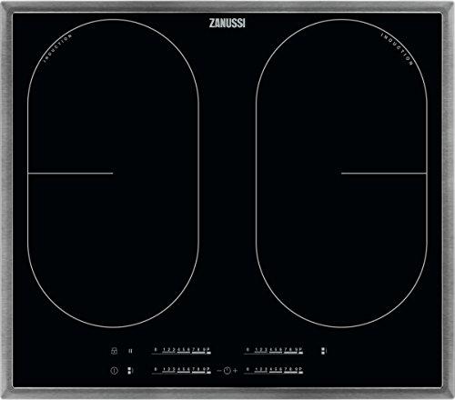 ZANUSSI ZID 6470 XB/Glaskeramik-Induktionskochfeld/Edelstahlrahmen / 60 cm / 4 Zonen