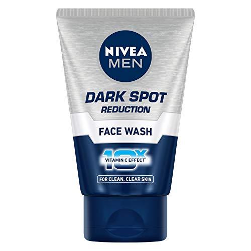 Nivea Men Dark Spot Reduction Face Wash (10x Whitening), 100 ML by Nivea