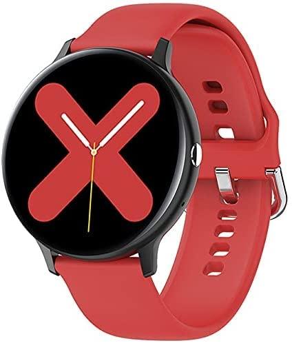 CNZZY Reloj inteligente I11 para hombre con Bluetooth y monitor de frecuencia cardíaca con presión arterial, oxígeno en la sangre, adecuado para iOS Android Smart Watch (C)