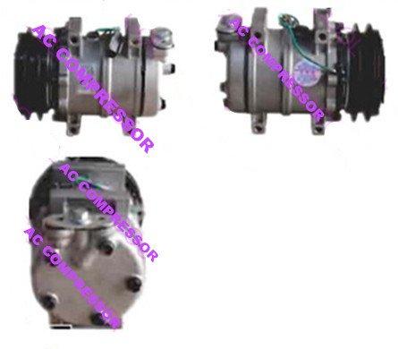 Gowe Auto AC Kompressor für Auto AC Kompressor 5sdks 1GA 137mm für 506011verchromt–Halogenlampe 5060117441