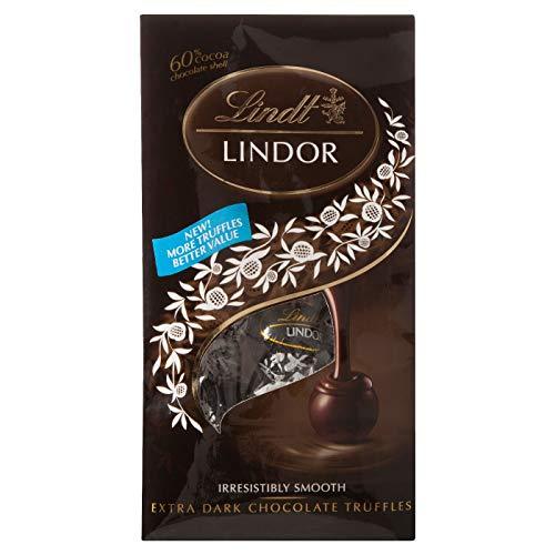 Lindt Lindor Irresistibly Smooth Extra Dark Chocolate Truffles 6 Oz