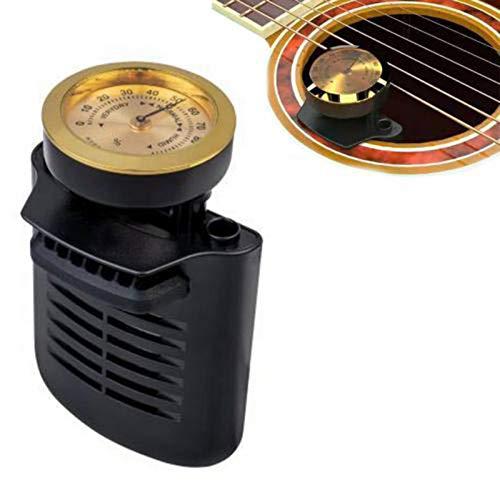 Guitar Humidifier, Universeller Gitarrenbefeuchter Hygrometer, Luftbefeuchter Für Volksgitarre Klassische Gitarre