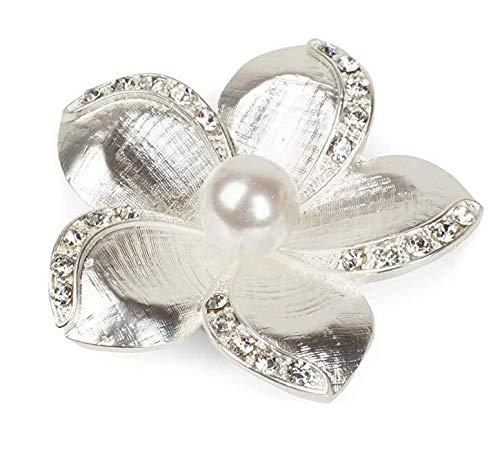 JPYH Broche,JoyeríA De Moda, Accesorios De Vestir, Estilo Elegante como Regalo para Mujer,Broche Joya de Moda Broche de Diamantes de Imitacion para Boda Fiesta Noche