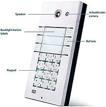 2N Telecommunications - 9137161CKU - 2N Helios IP Vario Door Phone - 6 Direct Call Buttons + Keypad + Video