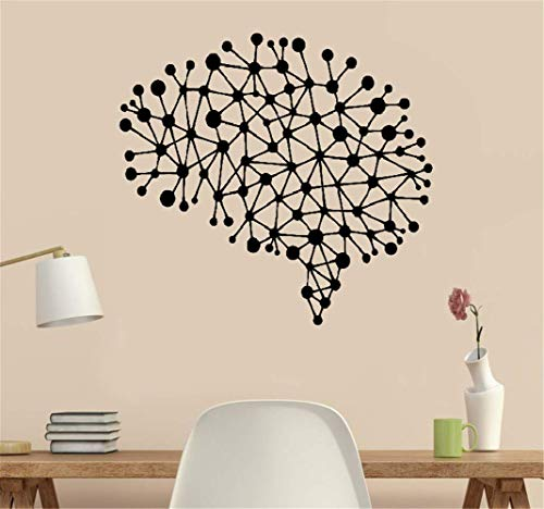 pegatinas decorativas pared Oficina de conexiones cerebrales Oficina de estudio Inspiradora edificante