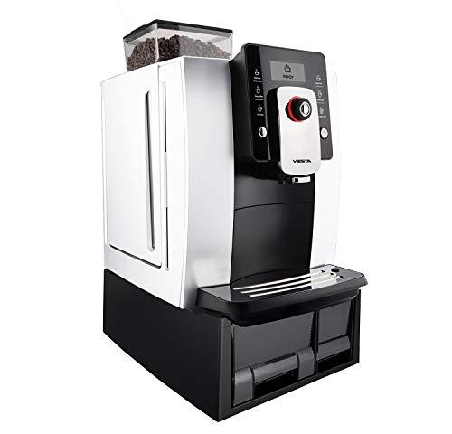 VIESTA One Touch Premium 1000 Máquina de café automática - Alta Potencia (1,8 litros, 19 Bar, 1400 Watt, Pantalla...