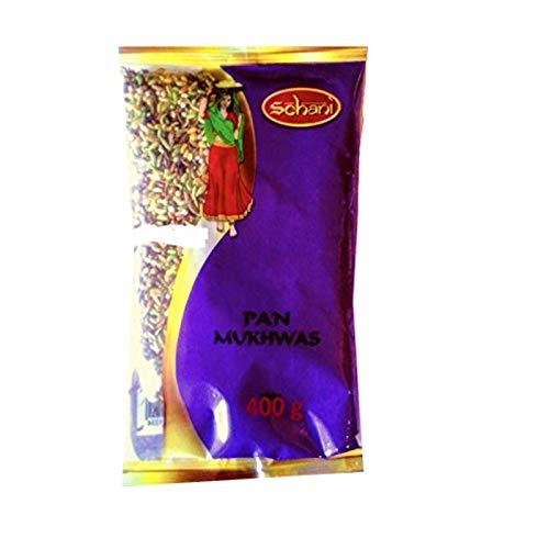 Schani Pan Mukhwas Sugar Coated Mix Seeds 400g Samen mit Zucker überzogen