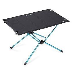 Helinox Table One Hardtop   Die zusätzliche Stabilität Einer harten Oberfläche Macht diesen ausgesprochen gut verstaubaren Reisetisch außergewöhnlich vielseitig (Black)