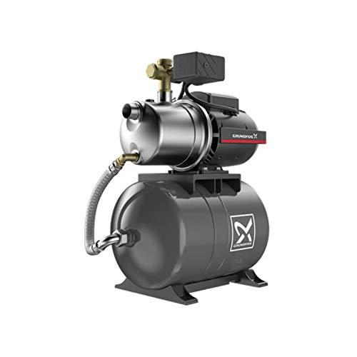 JP4-47 PT-H BBVP Grundfos Hauswasserwerk mit 20 Liter Membrandruckkessel Nummer 99463875