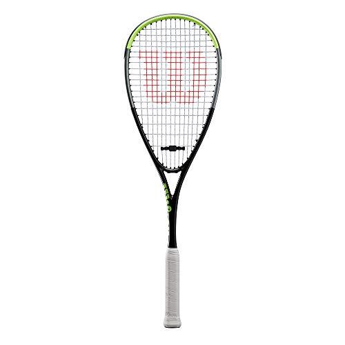 Wilson Blade Team Raquetas de Squash, Unisex-Adult, Black/Grey (Multicolor), 0