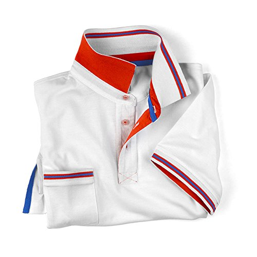 SOCIM-Polo Chelsea 100% algodón, 3 colores disponibles, Blanco ...