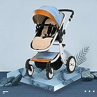 ベビーベビーカー新生馬幼児ベビープラム超軽量、通気性、防風折りたたみ式プッシュチェア、携帯用、幼児ベビーカー (Color : C)