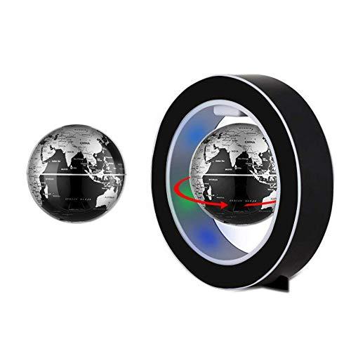 Jingfude Magnetische Drijvende Globe Kaart Levitatie Roterende Globe met LED Wereld Kaart, Anti Zwaartekracht Thuis Bureau Decoratie Kids Educatieve Geschenken