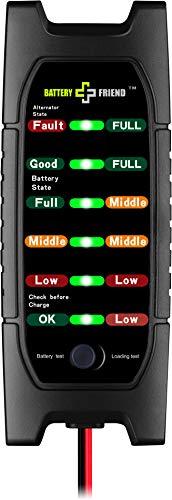 Jayron - Comprobador de batería Inteligente (12 V)