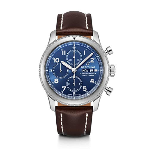 Blue Breitling Navitimer 8 Cronografo Calibre 13 Cronometro 43