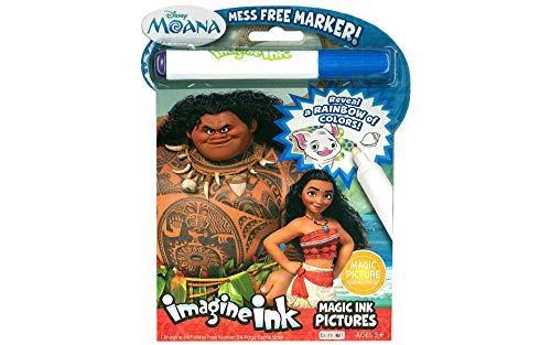 Bendon 73581 Disney Moana Imagine Ink Magic Ink Pictures