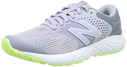 New Balance 520v7, Zapatillas para Correr Mujer, Grey/Green, 37 EU