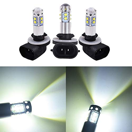 3 PCS 150W LED Super White Headlights Bulbs for Polaris Sportsman 500 800