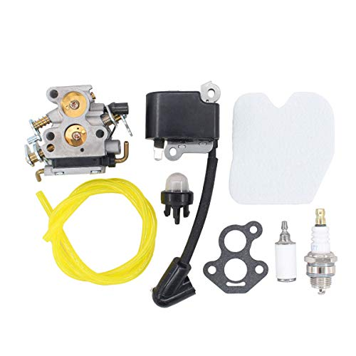ApplianPar Ignition Coil Carb Carburetor Kit 545072601 530039143 545061801 for Husqvarna 235 235E 236 236E 240 240E Chainsaw