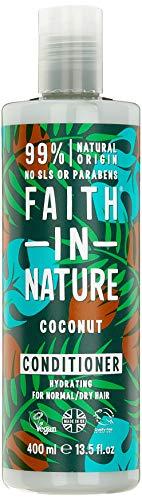 Faith in Nature Natural Coconut Conditioner, 400ml