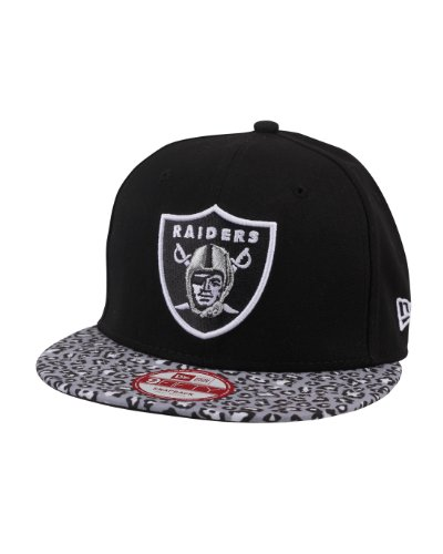 New Era Team Animal Print Oakland Raiders 9Fifty Snapback Cap MLB