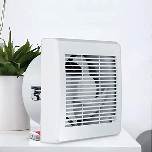 Extractor De Aire, Extractor Cocina Ventilador de efecto invernadero, ventilador de escape de la ventana Ventilación de ventilación de ventilación de ventilador de ventilador, con cubierta resistente