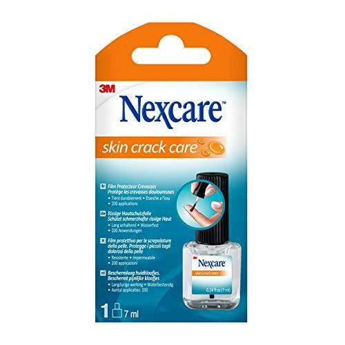Nexcare Skin Crack Care Cerotto Liquido per Ragadi Mani, Screpolature Tagli, Certto Spray per Talloni e Gomiti Screpolati e Secchi, con Vitamina E e T