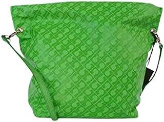Gherardini Borsa Donna Softy in Tessuto Verde 22 x 30 x 13 centimetri