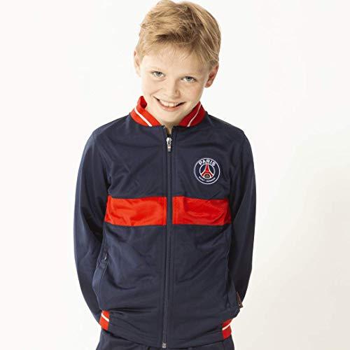Paris Saint-Germain Trainingsanzug, offizielle Kollektion, Kindergröße 8 Jahre blau