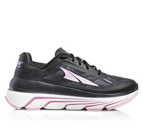 ALTRA Duo Road Zapatillas de correr para mujer, Negro (Negro, rosado), 37.5 EU