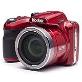 Kodak PIXPRO AZ421 Cámara Puente 16,15 MP 1/2.3' CCD 4608 x 3456 Pixeles Rojo - Cámara Digital (16,15 MP, 4608 x 3456 Pixeles, CCD, 42x, HD, Rojo)