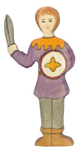 Holztiger - 2041142 - Figurine - Garçon Avec Chemise Violette
