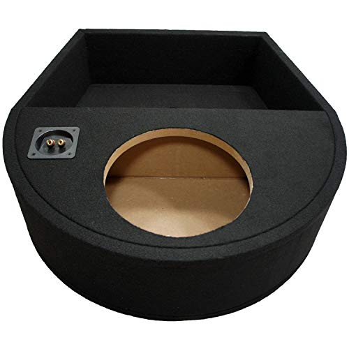"Universal Fit Single 10"" Subwoofer Sealed Replacement Spare Tire Custom Sub Box"
