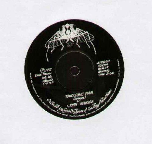 JOHN KONGOS - TOKOLOSHE MAN - 7 inch vinyl / 45