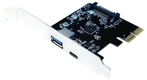 LogiLink PC0081 PCI Express Tarjeta de Interfaz, 2 x USB 3.1